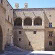 Courtyard of the Palace of the Grand Master, Rhodes — Stock Photo