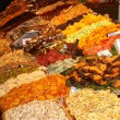 Dry fruits stall in a traditional market — Stock Photo #32494095