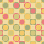 Bright seamless pattern with colored squares — Stock Vector