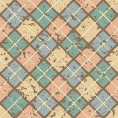 Vintage grange pattern — Stock Vector