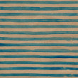 Watercolor striped background with blue stripes on brown paper — Stock Photo #33573881