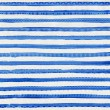Striped blue watercolor background with ethnic ornaments — Stock Photo