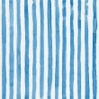 Watercolor striped background with vertical blue stripes — Stock Photo