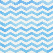 Watercolor blue striped background — Stock Photo
