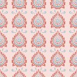 Stock Vector: Seamless ornate pattern