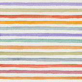 Watercolor colorful striped background — Stock Photo