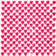 Background with bright pink hearts — Stock Photo #50712585