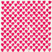 Background with bright pink hearts — Stock Photo