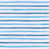 Watercolor blue stripes — Stock Photo