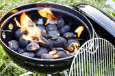 Charcoal Grill — Stock Photo