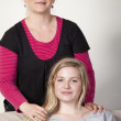 Mother and daughter — Stock Photo #24662667