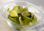Slices of Lime — Stock Photo