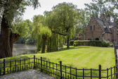 Park w brugge, belgia. — Foto de Stock
