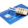 Credit card security concept — Stock Photo #40892059