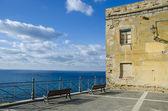Panorama italiano del mar tirreno — Foto de Stock