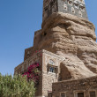 Dar Al Hajar (Rock Palace), Sana'a, Yemen - Stock Photo
