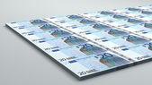 20 euro banknote — Stock Photo