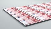 10 euro banknote — Stock Photo