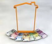 House spending tax money — Stock Photo