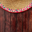 Royalty-Free Stock Photo: Background: Sombrero and Pepper Background