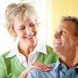 Couple: Confident Mature Couple — Stock Photo #24214311