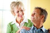 Couple: Confident Mature Couple — Stock Photo