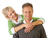 Couple: Mature Couple Togetherness — Stock Photo