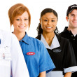 Occupations: Focus on Housekeeper — Stockfoto