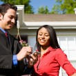 Stock Photo: Home: Agent and Buyer Research Information