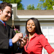 Home: Agent and Buyer Research Information — Stock Photo