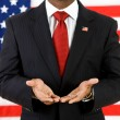 Royalty-Free Stock Photo: Politician: Showing Empty Hands