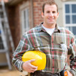 Construction: Handsome Home Builder — Stock Photo #25101933