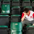 Fans: MSits Alone After Losing — Stock Photo #25408739