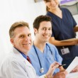 Doctors: Cheerful Team Of Doctors — Stock Photo
