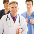 Stock Photo: Doctors: Trustworthy Health Professional Team