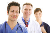 Doctors: Cheerful Medical TEam — Stock Photo