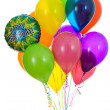 Balloons: Bunch of Happy Birthday Balloons — Stock Photo #26173893