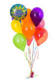 Balloons: Happy Birthday Dozen Balloon Bouquet — Stock Photo