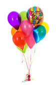 Balloons: Dozen Get Well Soon Balloon Bouquet — Stock Photo