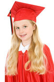 Graduate: Cute Elementary School Graduate — Stock Photo