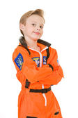 Astronaut: Future Astronaut Boy — Stock Photo