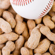 Baseball: OVerhead View of Ball and Nuts — Stock Photo