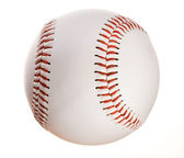 Baseball: Isolated on White Baseball — Stock Photo