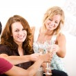 Bridal Shower: Friends Toast Bride — Stock Photo