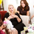 Stock Photo: Baby Shower: Mom Gets Gift of Money