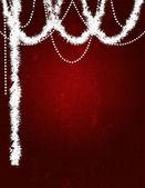 Svátek: Vánoční Grunge pozlátko pozadí — Stock fotografie