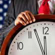 Politician: Close to Midnight — Stock Photo #33808391