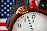 Politician: Close to Midnight — Stock Photo