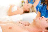 Massage: Focus on Hands — Stock Photo
