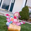 Winter: Wishing For Snow For Sledding — Foto Stock